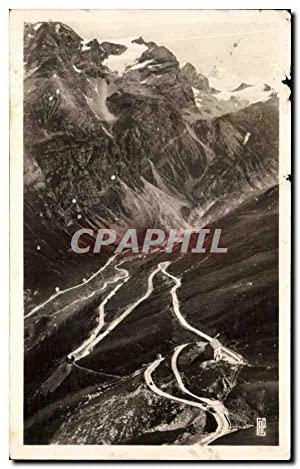 Carte Postale Semi Moderne Val d'Isere Route
