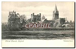 Carte Postale Ancienne Christ Church Oxford