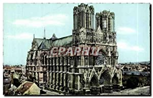 Carte Postale Ancienne Reims La Cathédrale De Reims