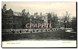 Carte Postale Ancienne Keble College Oxford