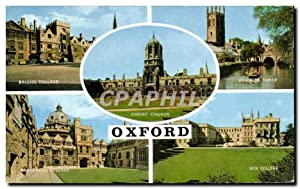 Carte Postale Moderne Oxford