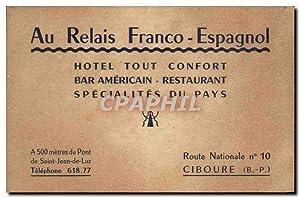Carte De Visite Ay Relais Franco Espagnol
