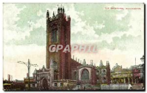 Carte Postale Ancienne The Cathedral Manchester