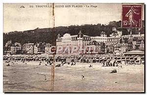 Carte Postale Ancienne Trouville Reine Des Plages