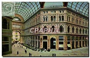 Carte Postale Ancienne Napoli Galleria Umberto