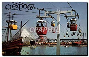 Carte Postale Moderne Montreal Canada Le Teleferique