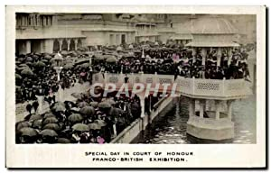 Carte Postale Ancienne Special Day In Court