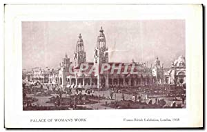 Carte Postale Ancienne Palace Of Womans Work