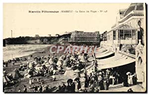Carte Postale Ancienne Biarritz Pittoresque Biarritz La
