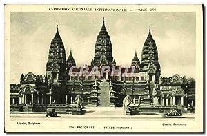 Carte Postale Ancienne Paris Exposition Coloniale Internationale