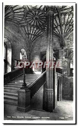 Carte Postale Ancienne Oxford The hall stairs Christ Church