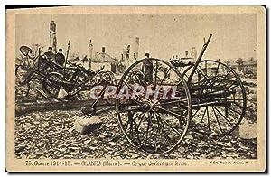Carte Postale Ancienne Militaria Guerre Glanes Marne