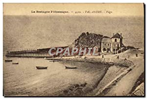 Carte Postale Ancienne Val Andre Piegu