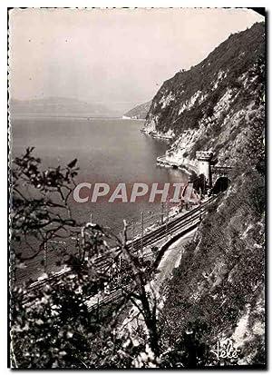 Carte Postale Moderne Lac du Bourget Route