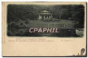 Carte Postale Ancienne St Cloud Ancien Jardin