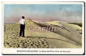 Carte Postale Moderne Bassin Arcachon La dune