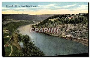 Carte Postale Ancienne Kentucky River From High Bridge