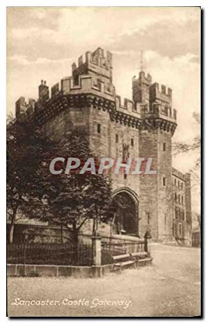 Carte Postale Ancienne Lancaster Castle Gateway