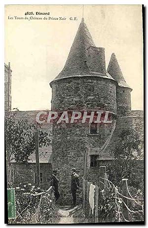 Carte Postale Ancienne Dinard Les Tours du