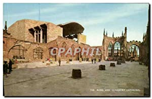 Carte Postale Moderne Coventry Cathedral The Ruins