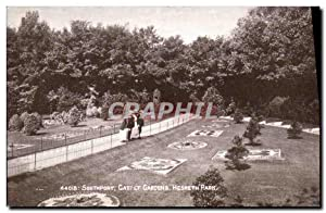 Carte Postale Ancienne Southport Carpet Gardens Hesketh Park