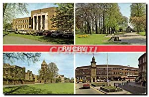 Carte Postale Moderne Rugby school Town hall Caldecot park