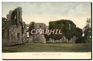 Carte Postale Ancienne Kenilworth Castle From Inner Court