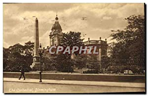 Carte Postale Ancienne The Cathedral Birmingham