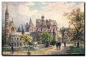 Carte Postale Ancienne Oxford Balliol College