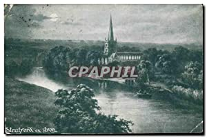 Carte Postale Ancienne Statford on Avon
