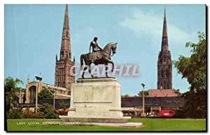 Carte Postale Moderne Lady Godiva Broadgate Coventry