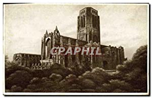 Carte Postale Ancienne Liverpool Cathedral