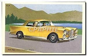 Carte Postale Ancienne Automobile Facel Vega Grand