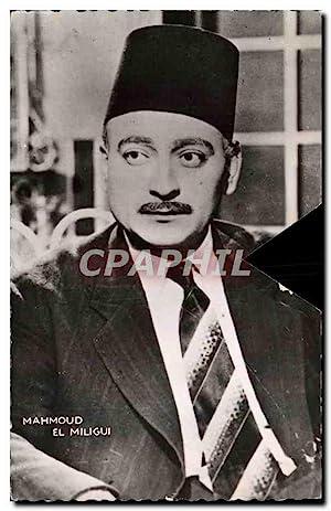 Carte Postale Moderne Cinema Mahmoud El Miligui
