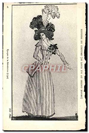 Carte Postale Ancienne Histoire du costume De