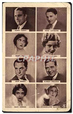 Carte Postale Moderne Cinema Henry Garat Lefevre