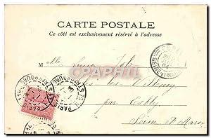 Carte Postale Ancienne Paris Vecu La garde