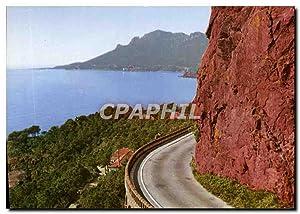 Carte Postale Moderne Route de la corniche