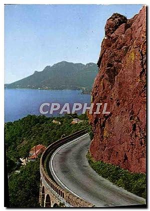 Carte Postale Moderne La Cote d'Azur La