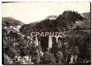 Carte Postale Moderne Le Lioran Route Du