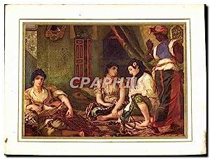 Carte Postale Moderne Eugene Delacroix Femmes D'Alger