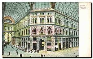 Carte Postale Ancienne Napoli Galleria Umberto I