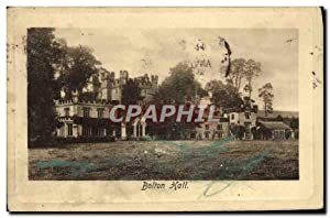 Carte Postale Ancienne Bolton Hall