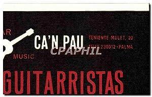 Carte De Visite Can Pau Guitarristas Cada