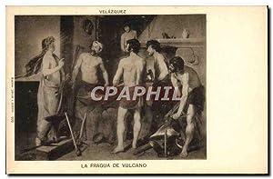 Carte Postale Ancienne Velazquez La Fragua De