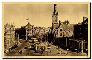 Carte Postale Ancienne Talbot Square Blackpool