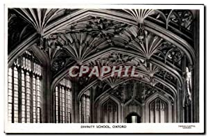 Carte Postale Ancienne Divinity School Oxford