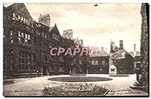 Carte Postale Ancienne Oxford Brasenose College