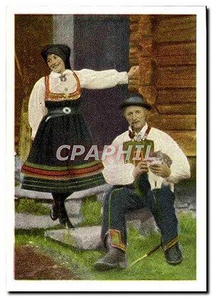 Carte Postale Moderne Fra Setesdal Folklore