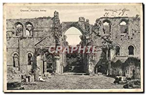 Carte Postale Ancienne Chancel Furness Abbey Barrow In Furness